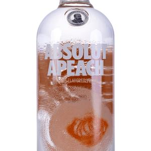 Vodka Absolut Peach 1 Litro