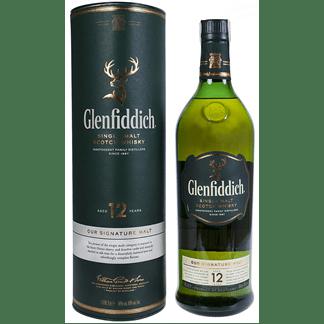Whisky Glenfiddich 12 Años 1 Litro