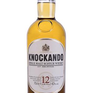Whisky Knockando Malta 12 Años con Estuche 70cl