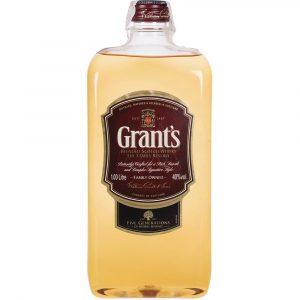 Whisky Grants Petaca Plástico 1 Litro
