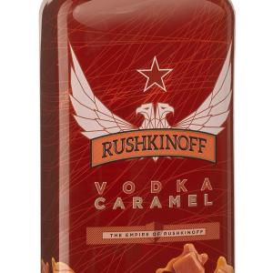 Vodka Rushkinoff Caramelo Petaca Plástico 1 Litro