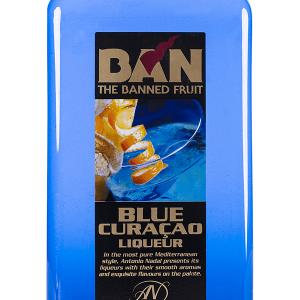 Licor Ban Blue Curaçao Petaca Plástico 1 Litro