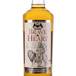 Whisky Brave Heart 30 Grados 1 Litro