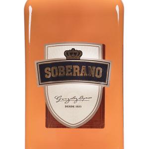Brandy Soberano 30 Grados Petaca Plástico 1 Litro