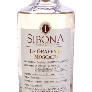 Grappa Sibona di Moscato 50cl