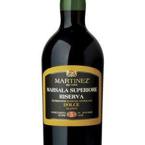 Marsala Martínez Dulce Reserva 5 Años 75cl