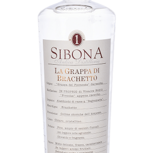 Grappa Sibona Brachetto 1'5 Litros