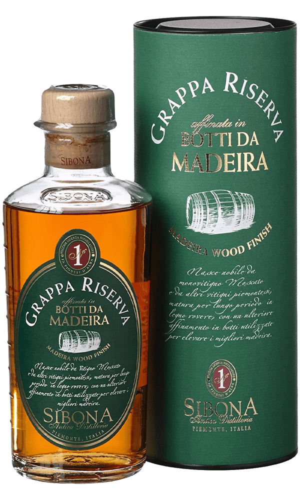 Grappa Sibona Reserva Madeira 50cl