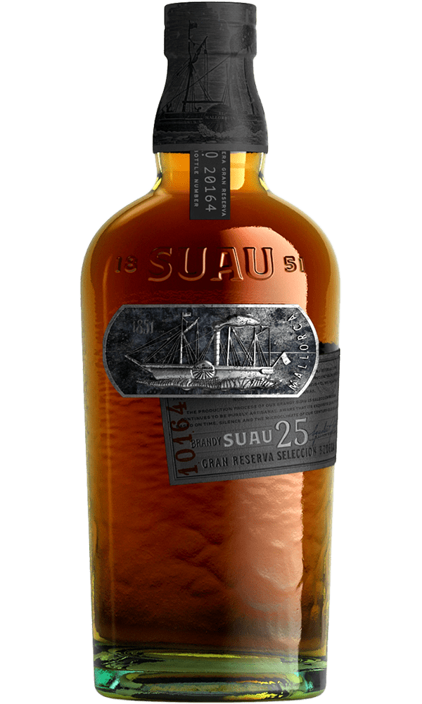 Brandy Suau Etiqueta Negra 25 70cl