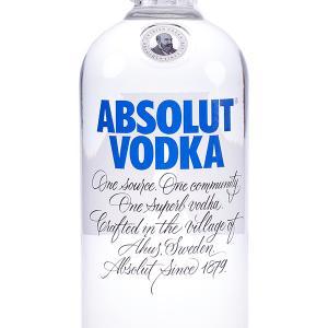 Vodka Absolut Azul 1 Litro