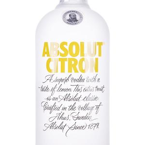 Vodka Absolut Citron 1 Litro