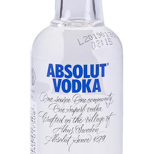 Vodka Absolut Miniatura 5 cl