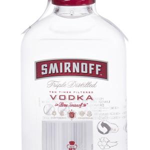 Vodka Smirnoff Rojo Petaca 20cl