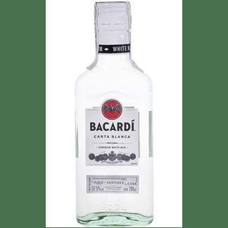 Ron Bacardí Carta Blanca Petaca 20cl