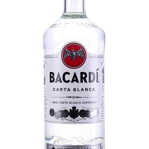 Ron Bacardí Carta Blanca sin Dosificador 1 Litro