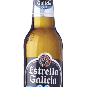 Cerveza Estrella Galicia 0,0 25cl Pack 6 Bot. Caja 24 u.