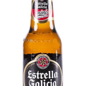 Cerveza Estrella Galicia Botellín 20cl Pack 6 Bot. Caja 24 u.