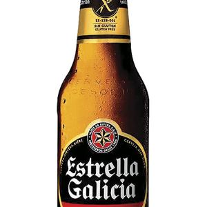 Cerveza Estrella Galicia sin Gluten Botellín 33cl Caja 24 u.