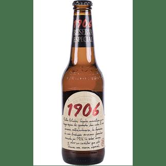Cerveza Estrella Galicia 1906 Botellín 33cl Pack 6 Bot. Caja 24 u.