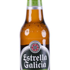 Estrella Galicia Pilsen Botellín 33cl NR Caja 24 u.