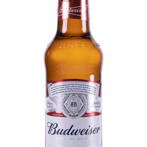 Cerveza Budweiser Botellín 33cl Caja 24 u.