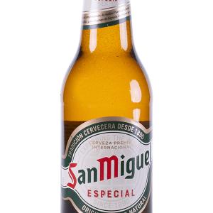 Cerveza San Miguel Botellín 33cl Pack 4 Bot Caja 24 u.