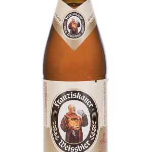 Cerveza Franziskaner Botellín 50cl Caja 20 u.