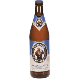 Cerveza Franziskaner Sin Alcohol Botellín 50cl Caja 12 u.
