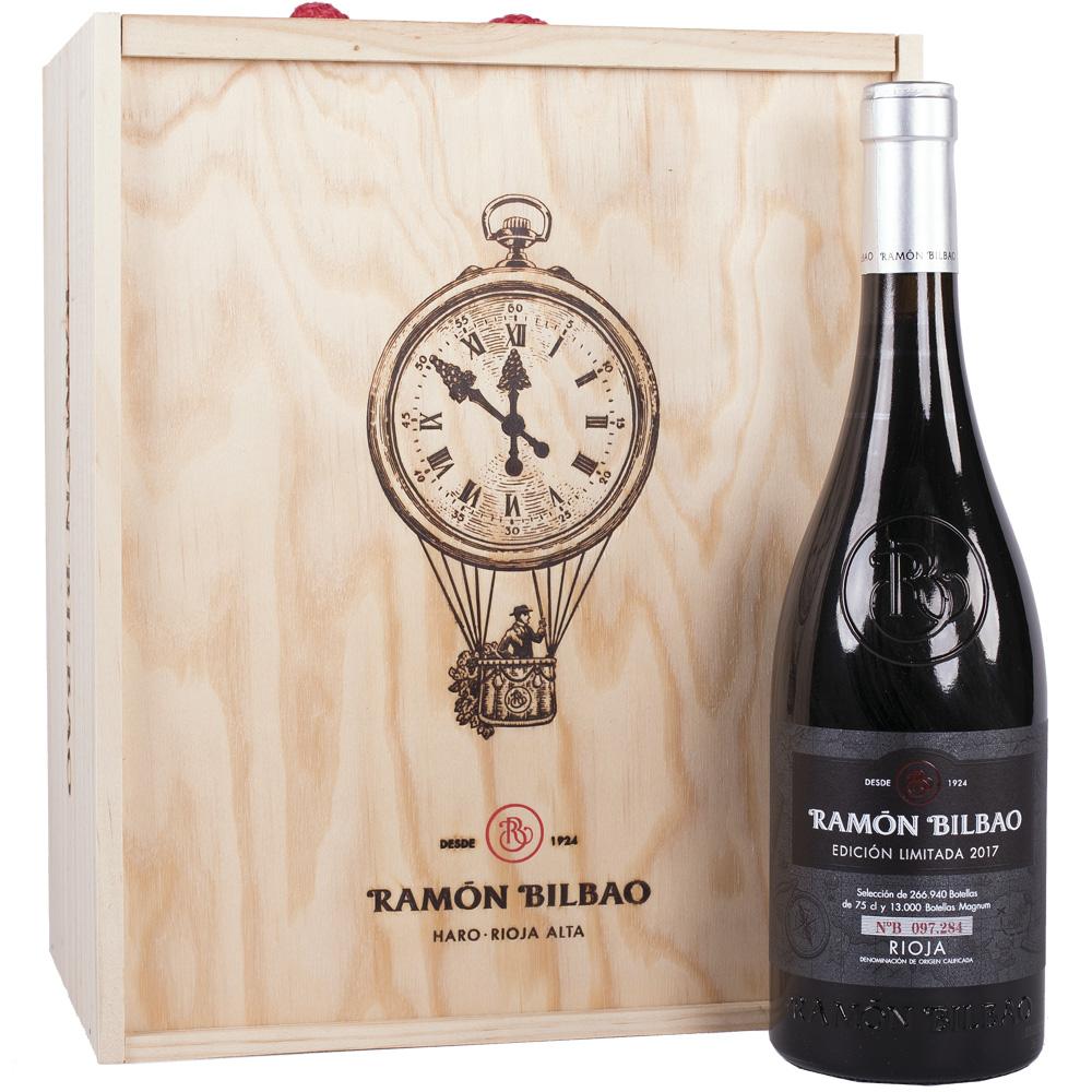 Ramón Bilbao Edición Limitada Tinto Crianza 75cl Caja Madera 6 botellas