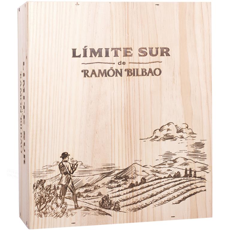 Ramón Bilbao Límite Sur Tinto 75cl Caja Madera 3 Botellas