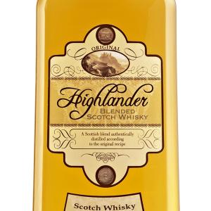 Whisky Highlander Petaca Plástico 1 Litro