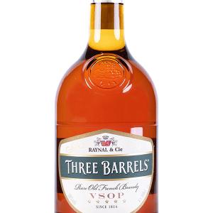 Brandy Three Barrels VSOP 1 Litro