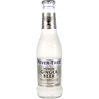 Tónica Fever Tree Ginger Beer Caja 24 Botellines 20cl
