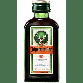 Licor Jägermeister Miniatura 40cl Pack 24 Botellines 4cl