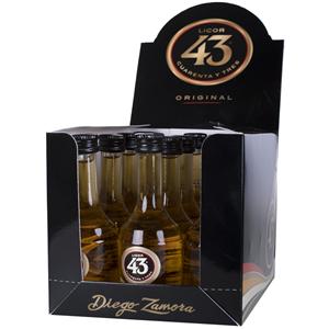 Licor 43 Pack 12 Miniaturas 6cl