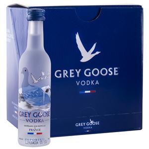 Vodka Grey Goose Miniatura Pack 12 Unidades 5cl