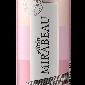 Mirabeau Atelier Rose Lata 25cl Caja de 12 unidades