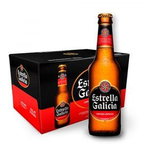 Cerveza Estrella Galicia 33cl Caja 24 Botellines