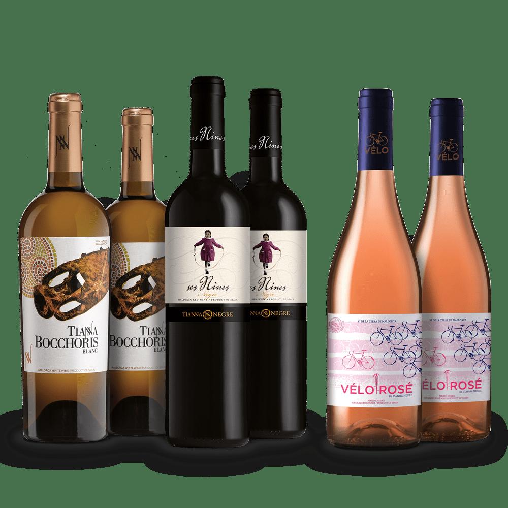 Lote Vinos de Mallorca 1