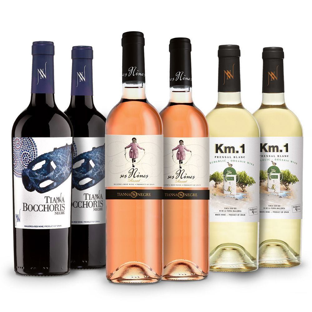 Lote Vinos Mallorca 2