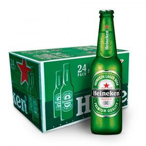 Cerveza Heineken 33cl Caja 24 Botellas