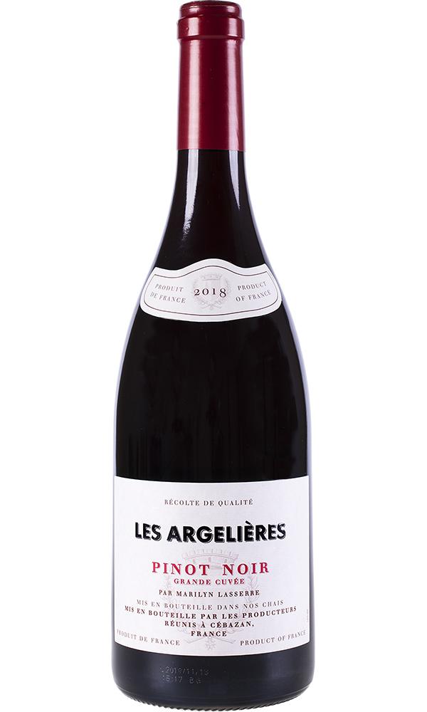 Les Argelières Tinto Pinot Noir 75cl