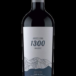 Andeluna 1300 Malbec Tinto 75cl