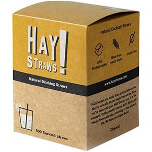 Pajita Hay Straws Cocktail 500 unidades