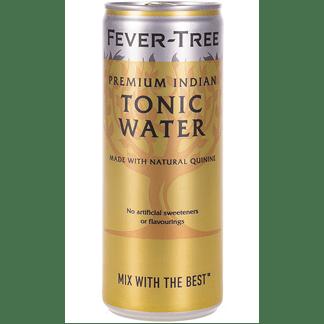 Tónica Fever Tree Caja 24 Latas 25cl