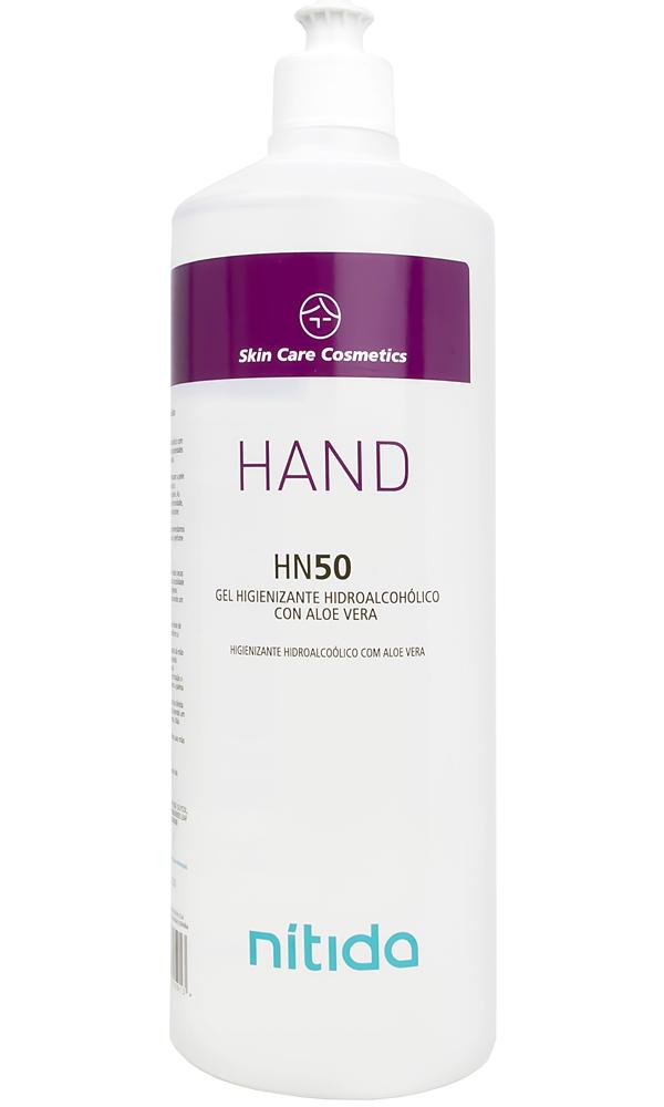 Nitida Hand HN50 Desinfectante Hidroalcohólico 1 Litro