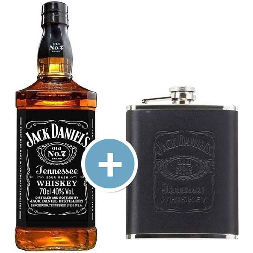 Bourbon Jack Daniel´s 70cl + Petaca Originals 20cl