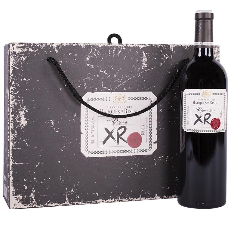 Marqués de Riscal Tinto Reserva XR75cl Estuche 2 Botellas